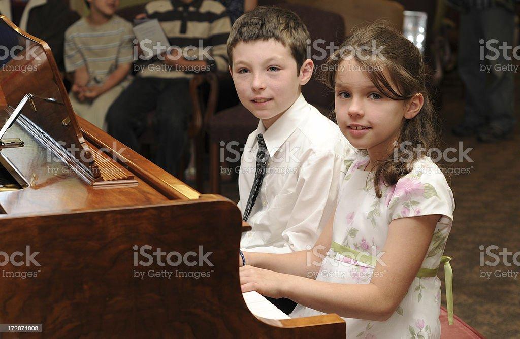 duet royalty-free stock photo