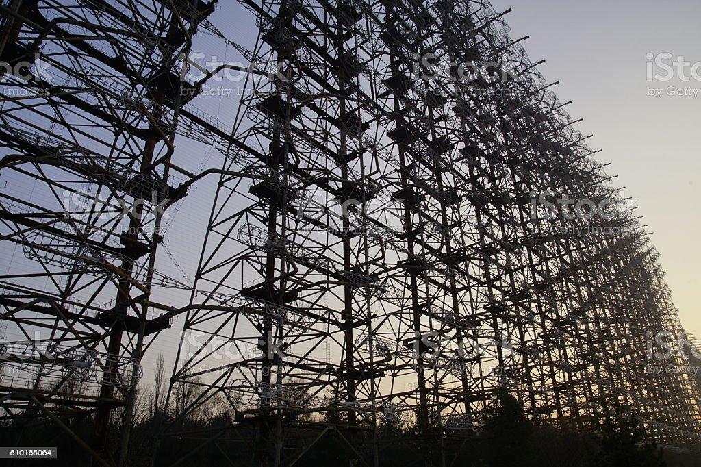Duga-3: Steel Yard stock photo