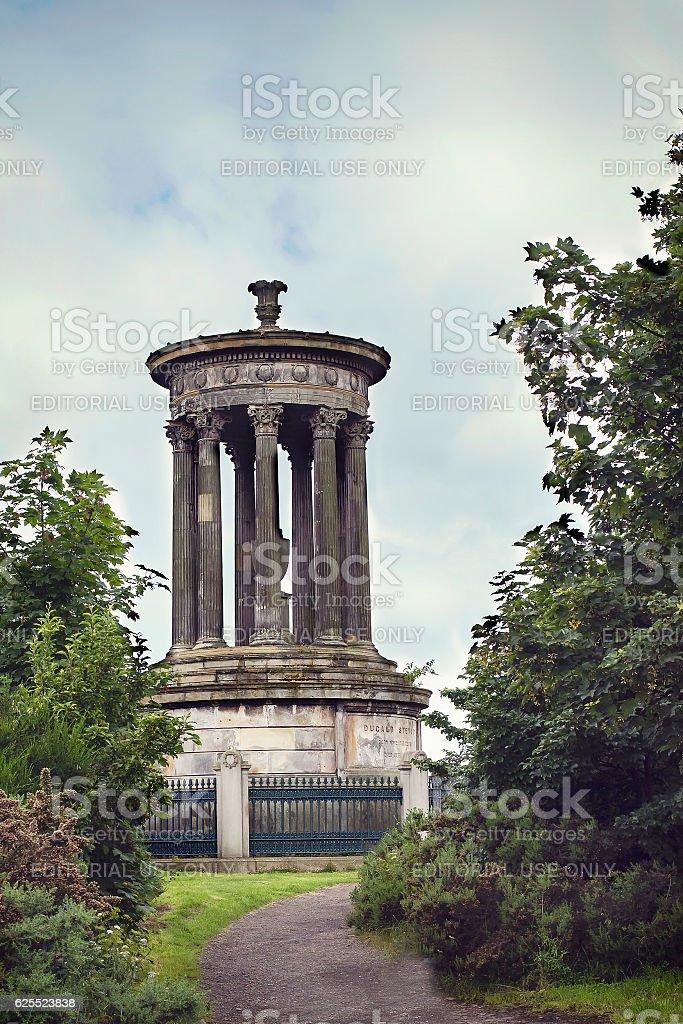 Dugald Stewart Monument stock photo