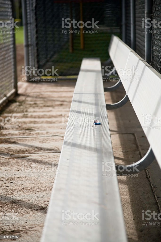 Dugout II royalty-free stock photo
