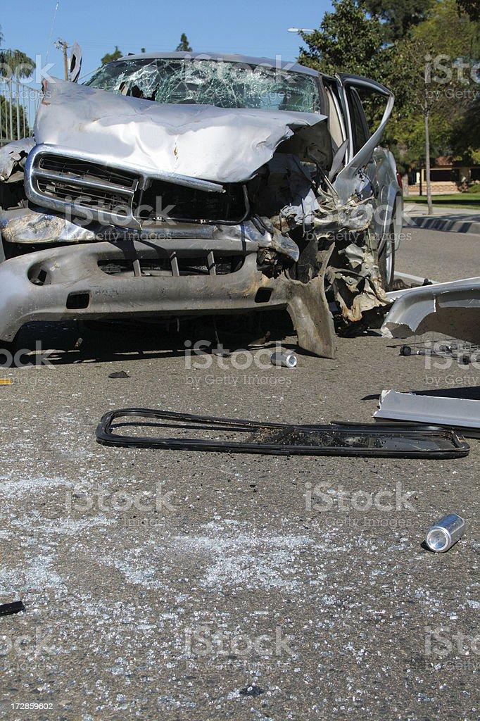 dui car crash royalty-free stock photo