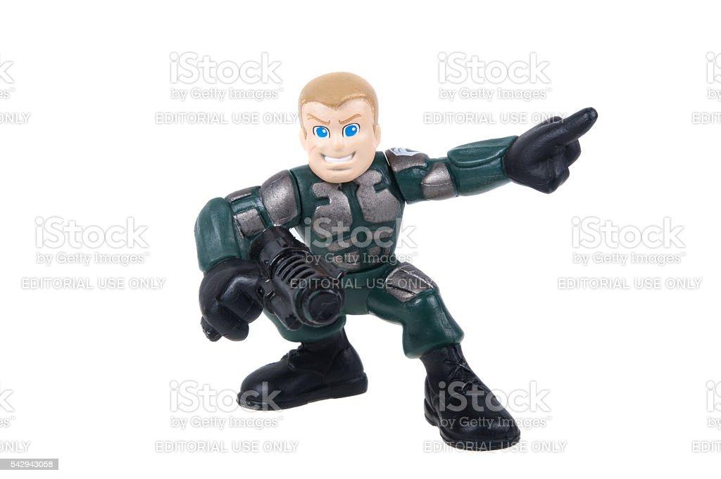 Duke GI Joe Combat Heroes Action Figure stock photo