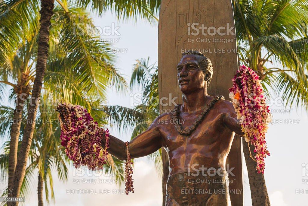 Duke Kahanamoku stock photo