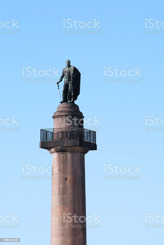 Duke Of York Column in London stock photo