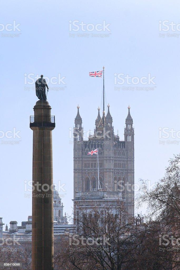 Duke Of York Column stock photo