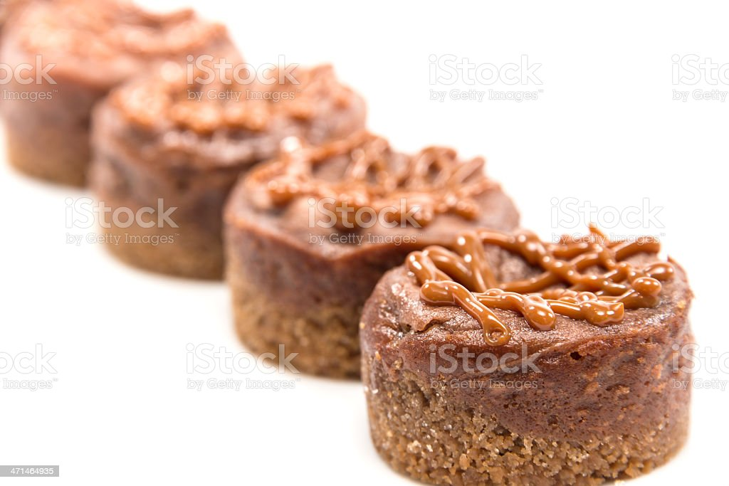 Dulce de Leche Cheesecakes royalty-free stock photo