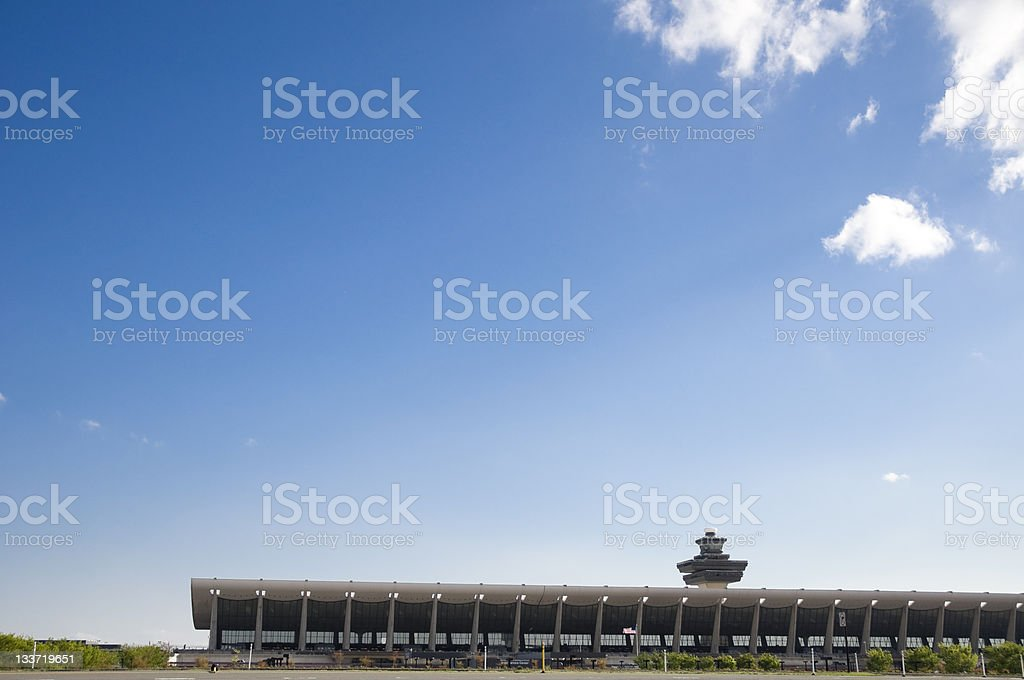 Dulles Airport royalty-free stock photo