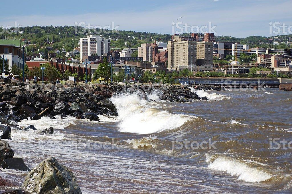 Duluth, MN stock photo