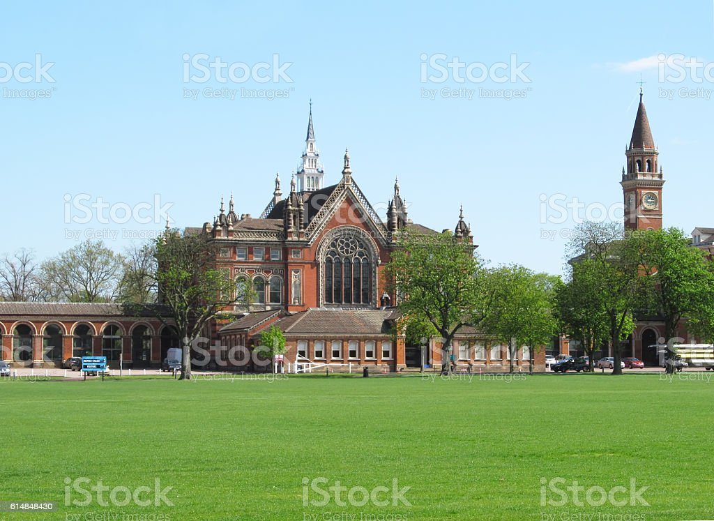 Dulwich College stock photo