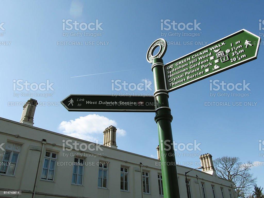 Dulwich Village stock photo