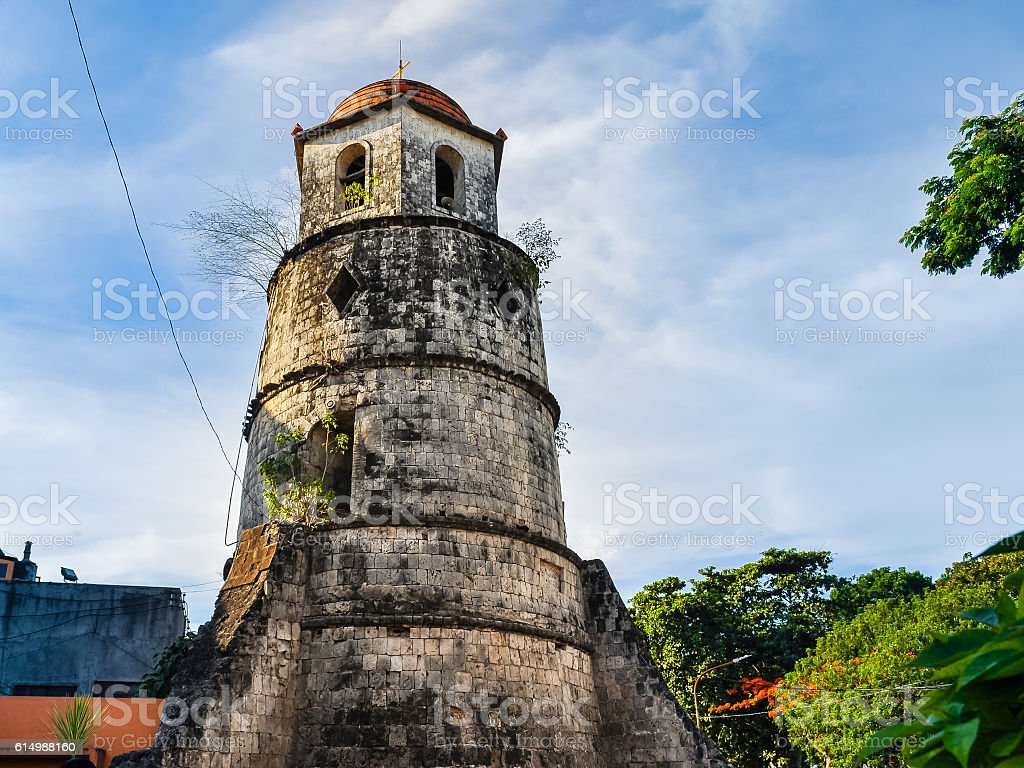 Dumaguete City Bell Tower - Philippines stock photo