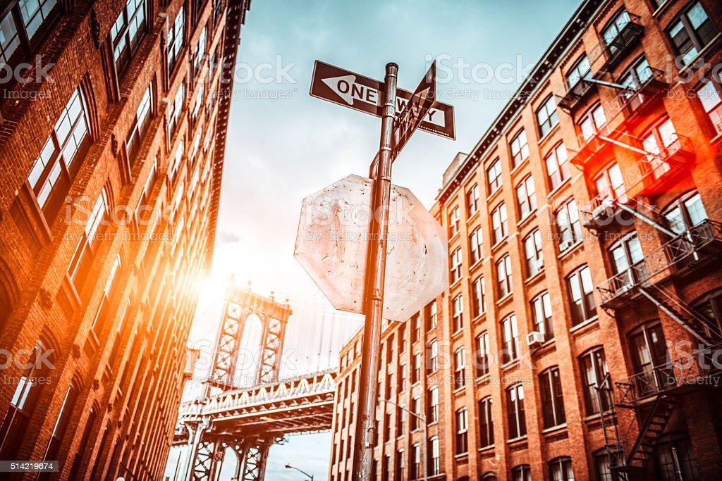 Dumbo Brooklyn New York City stock photo