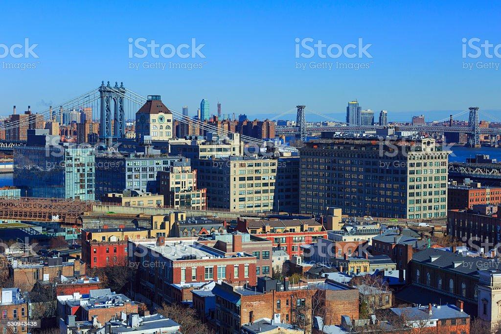 Dumbo, New York City stock photo