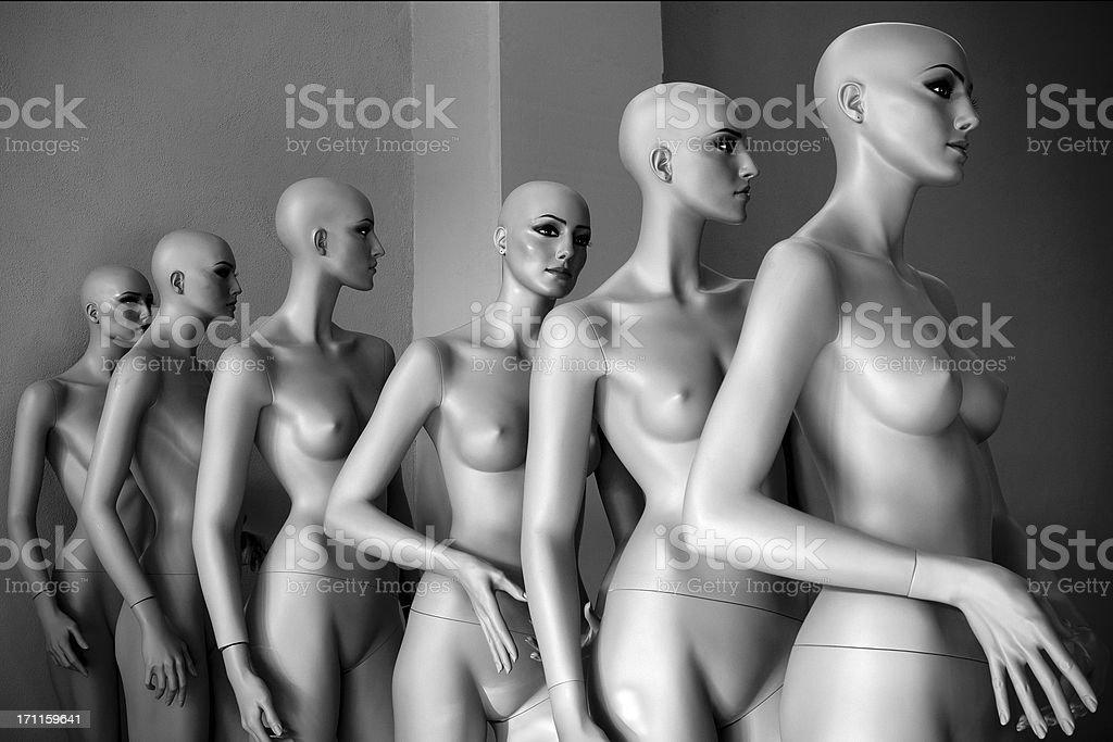 Dummies stock photo