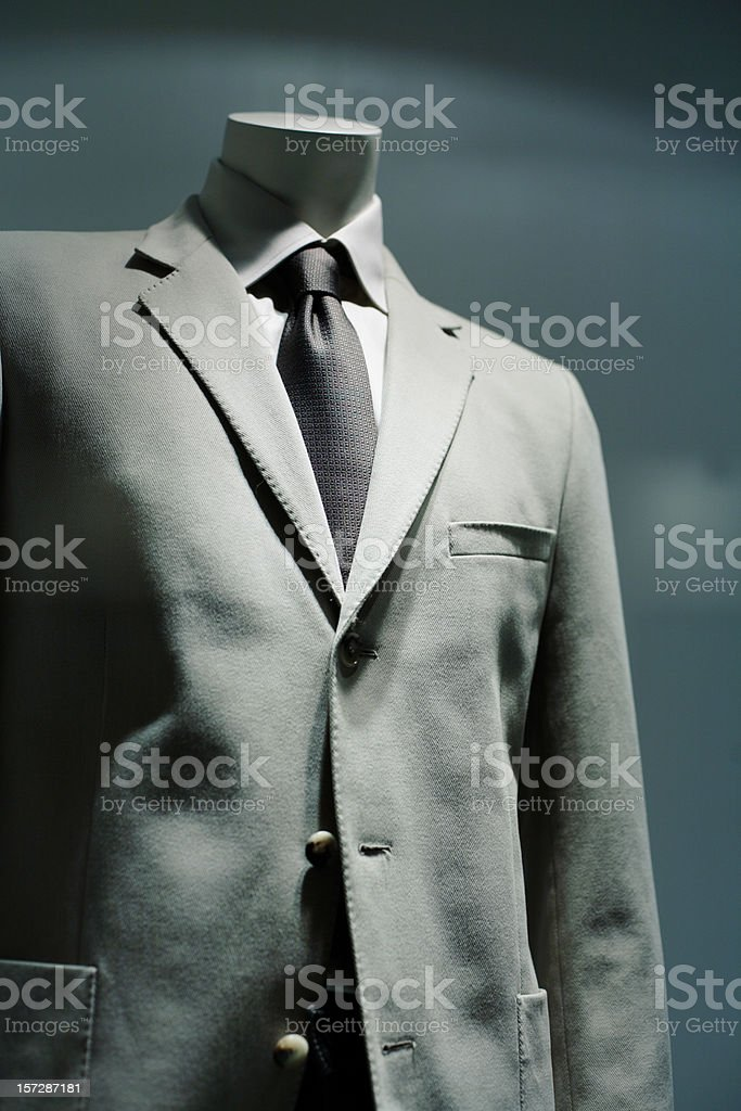 Dummy in the store royalty-free stock photo