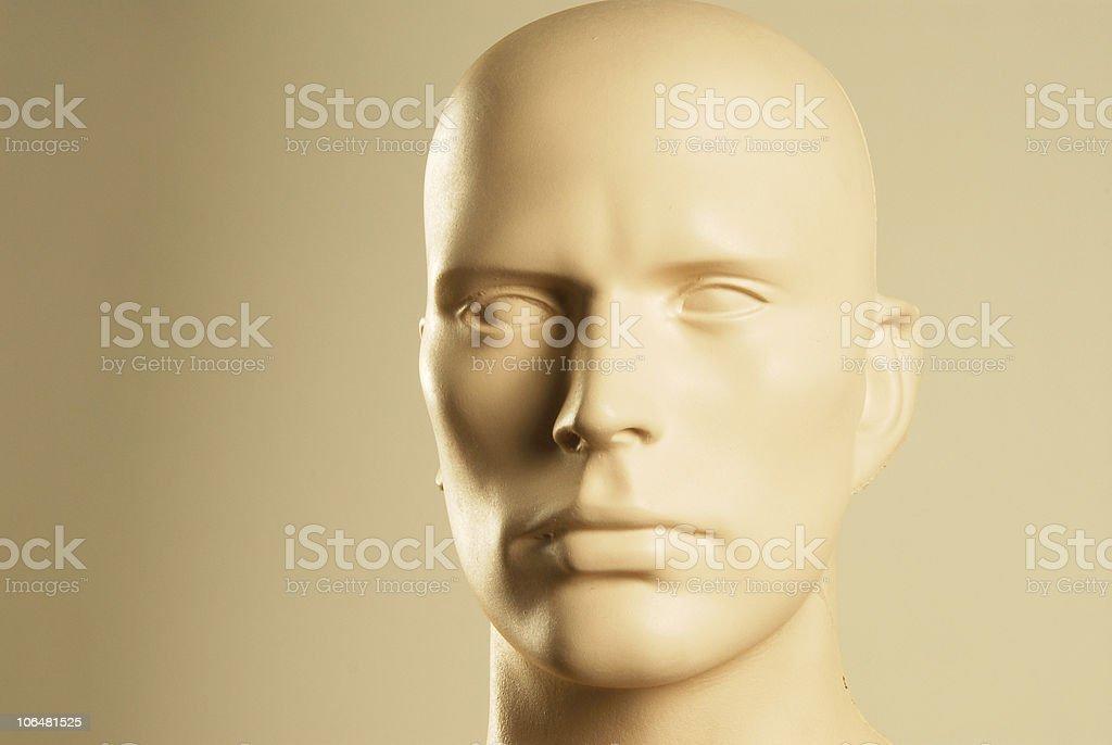 dummy o man stock photo