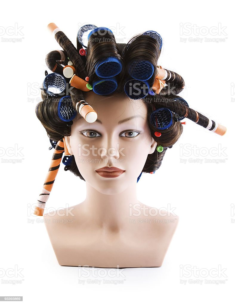 Dummy of the hair royalty-free stock photo