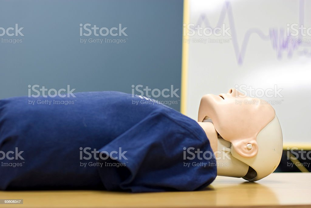 CPR dummy stock photo