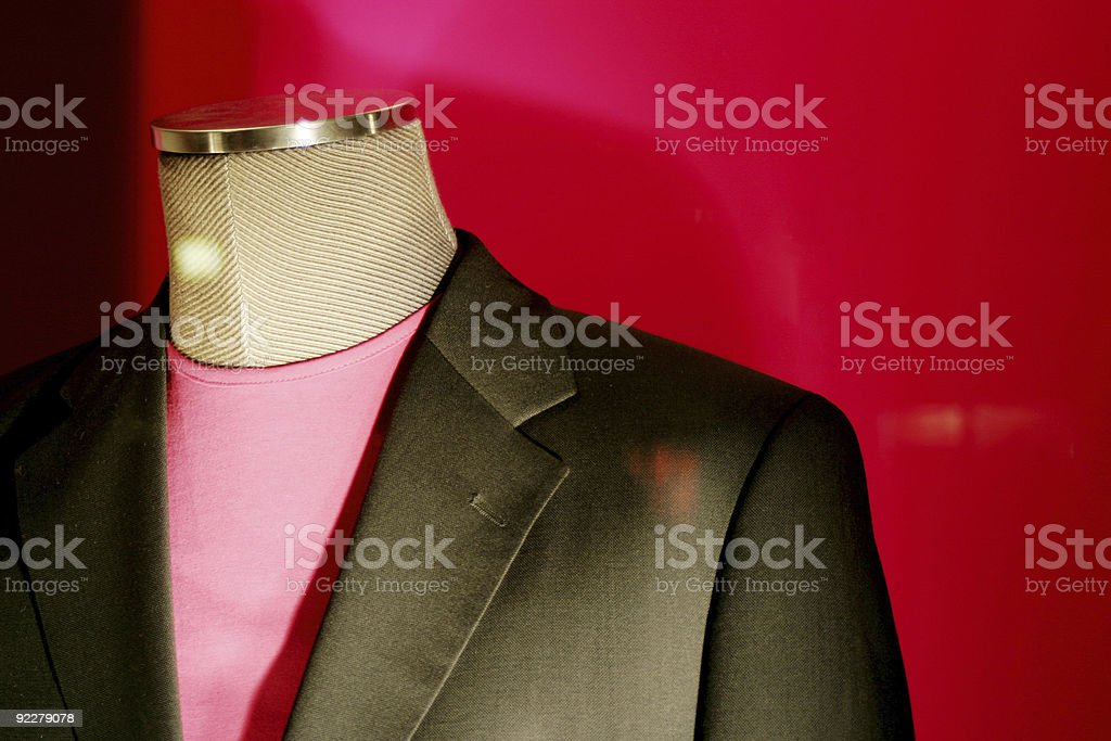 Dummy wearing a suit . stock photo