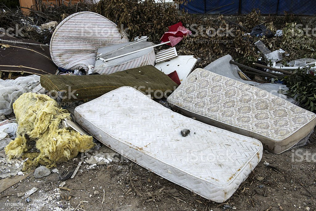 Dump Beds royalty-free stock photo