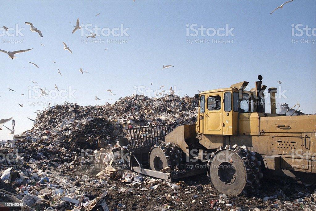 Dump stock photo