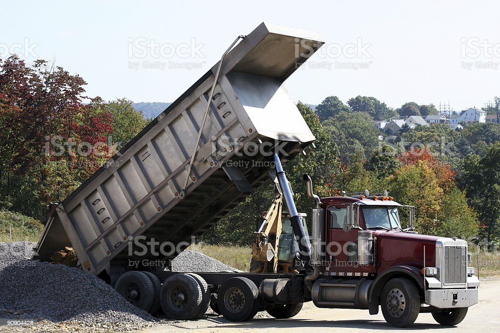 Dump Truck 2 royalty-free stock photo