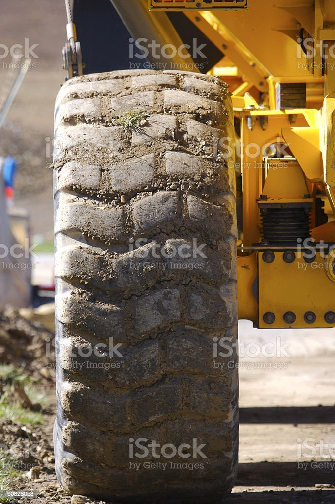 Dump Truck Detail royalty-free stock photo