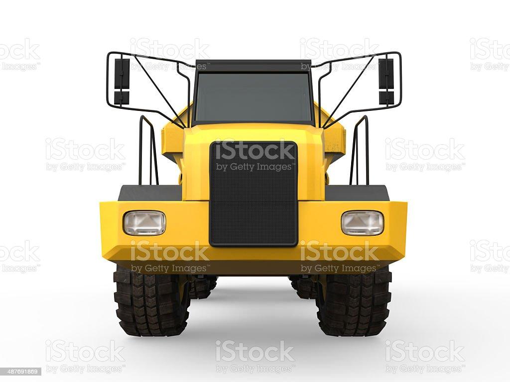 Dump Truck Isolated stock photo