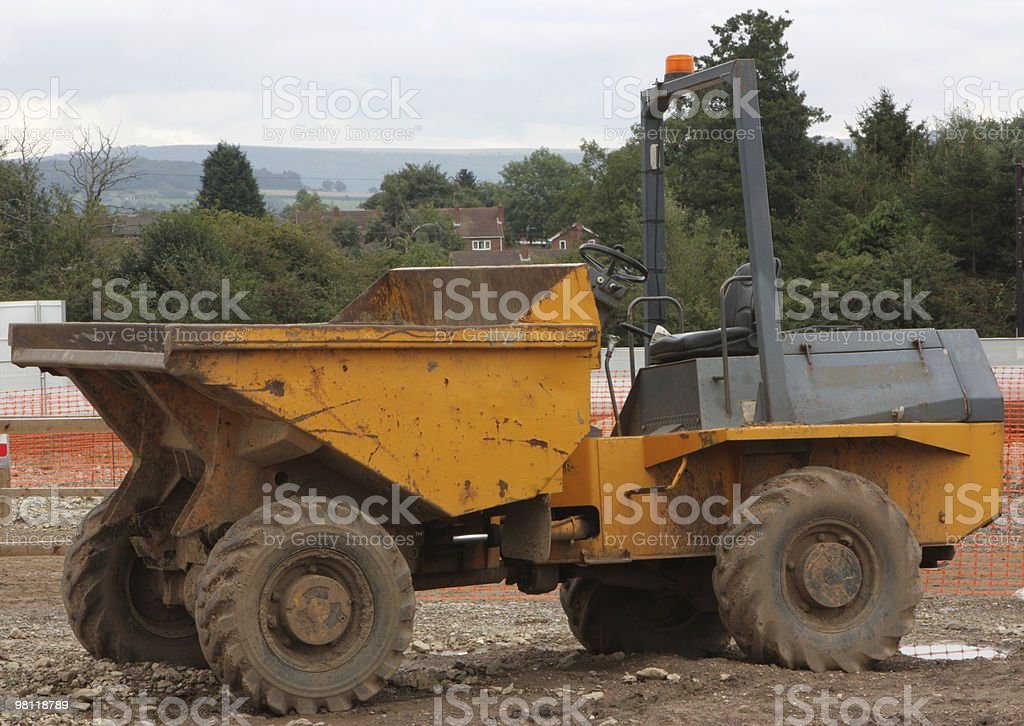 dumper truck stock photo