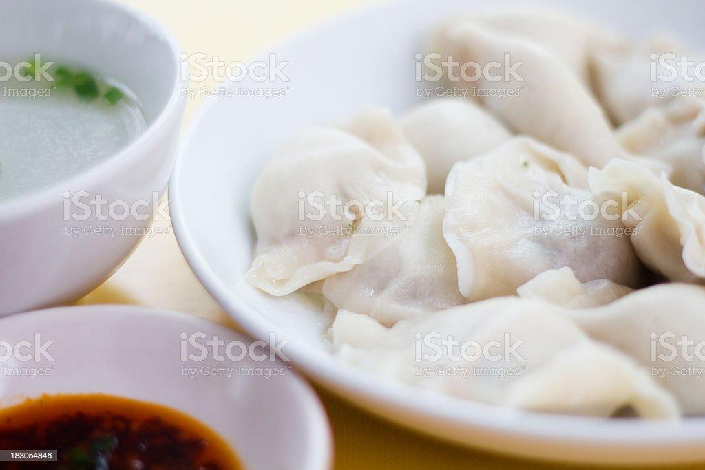 Dumpling stock photo