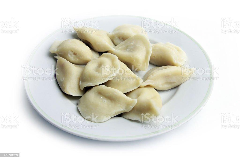 dumplings royalty-free stock photo