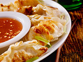 Dumplings With Sweet and Sour Sauce