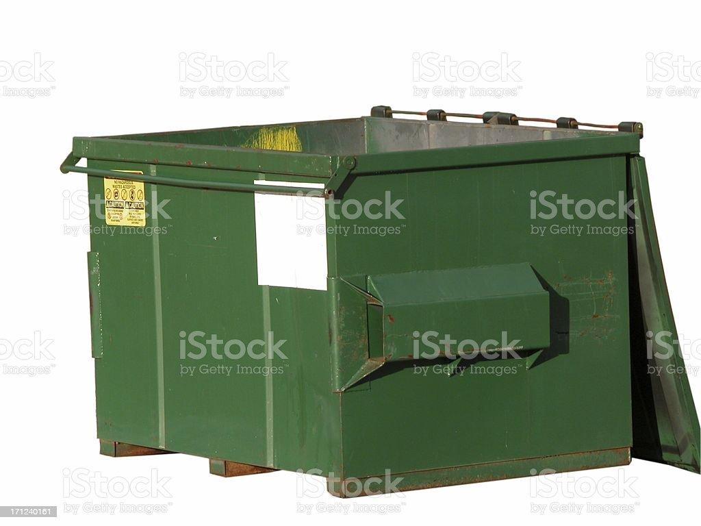 Dumpster stock photo