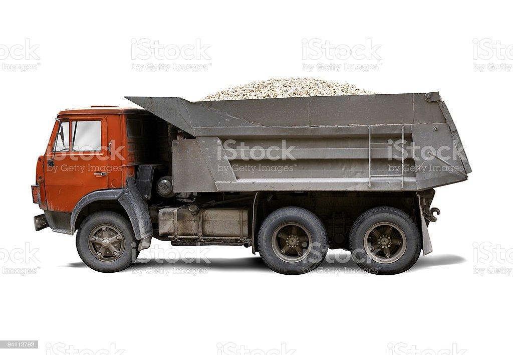 Dump-track stock photo