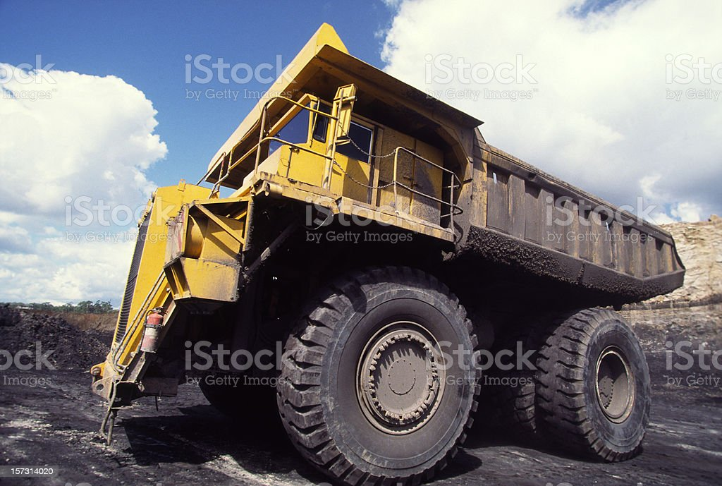 Dumptruck royalty-free stock photo