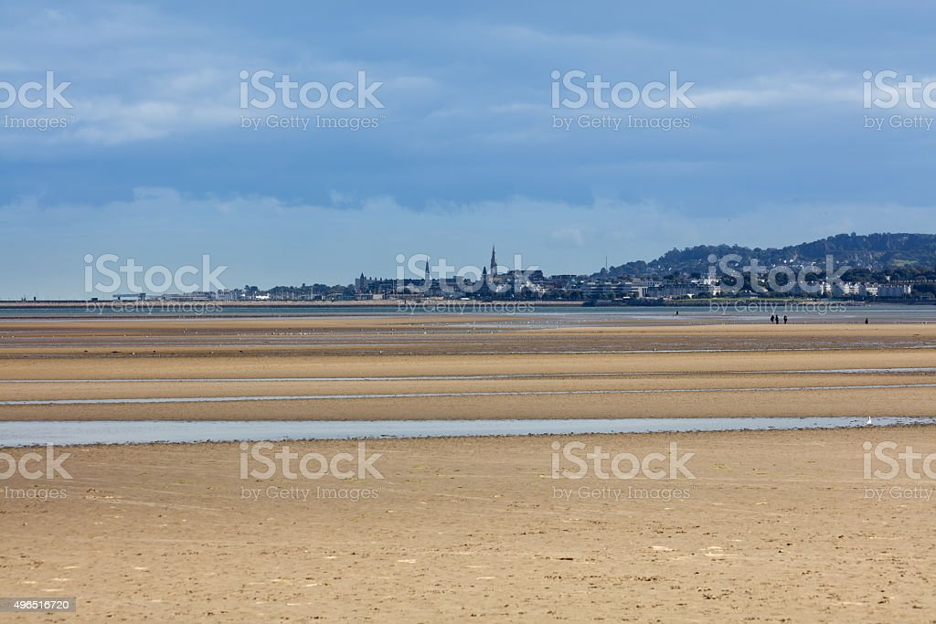 Dun Laoghaire and Blackrock area of Dublin stock photo