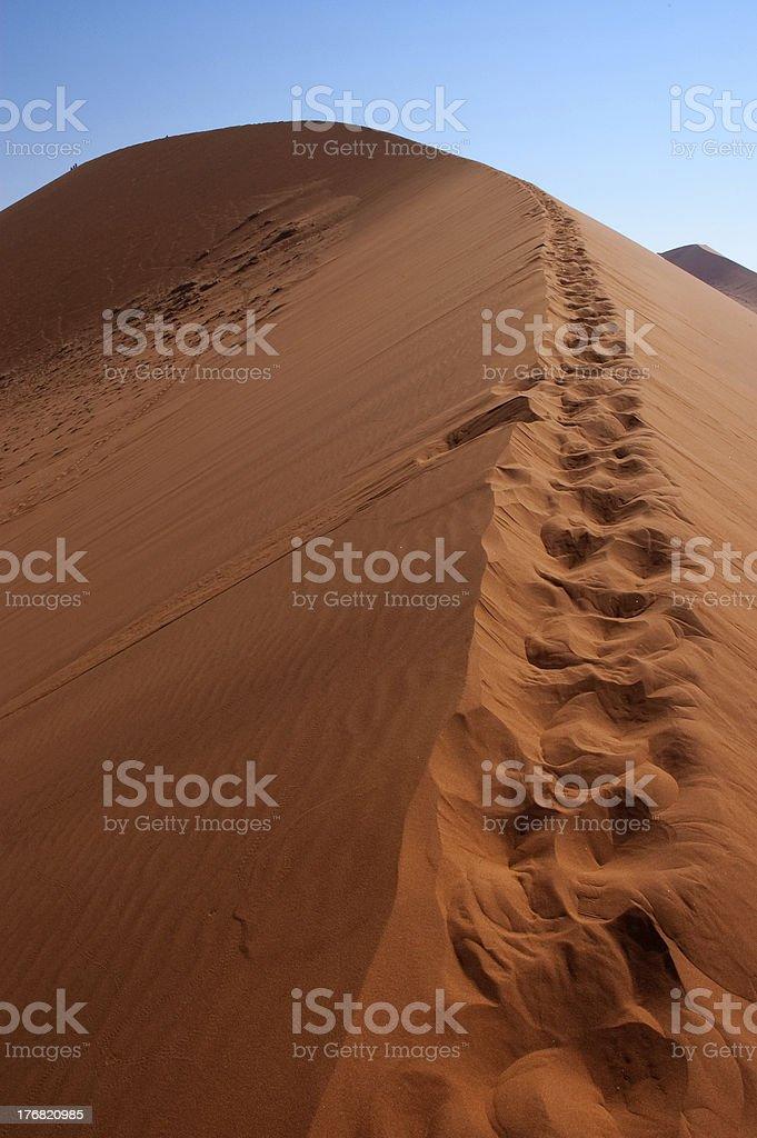 Duna in Namibia stock photo