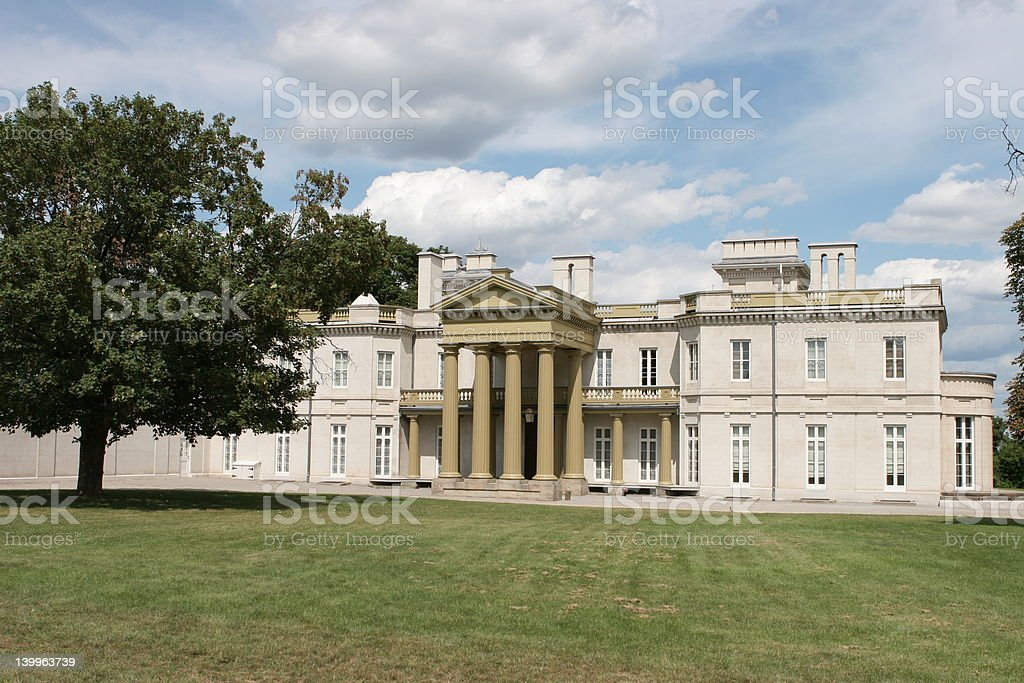 Dundurn Castle in Hamilton, Canada stock photo