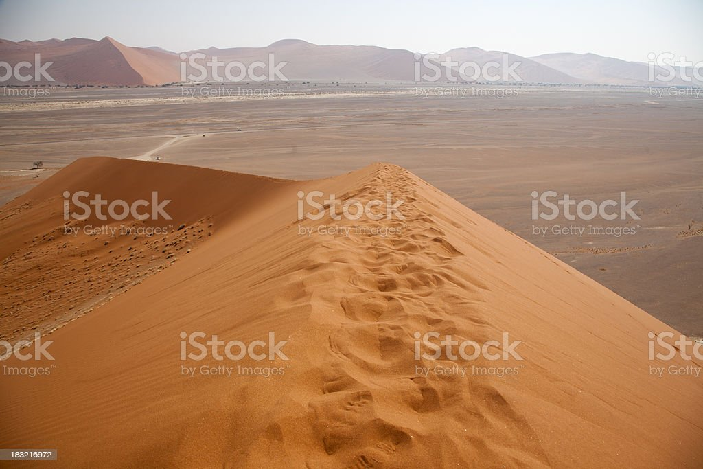 Dune 45, Sossusvlei, Namibia stock photo