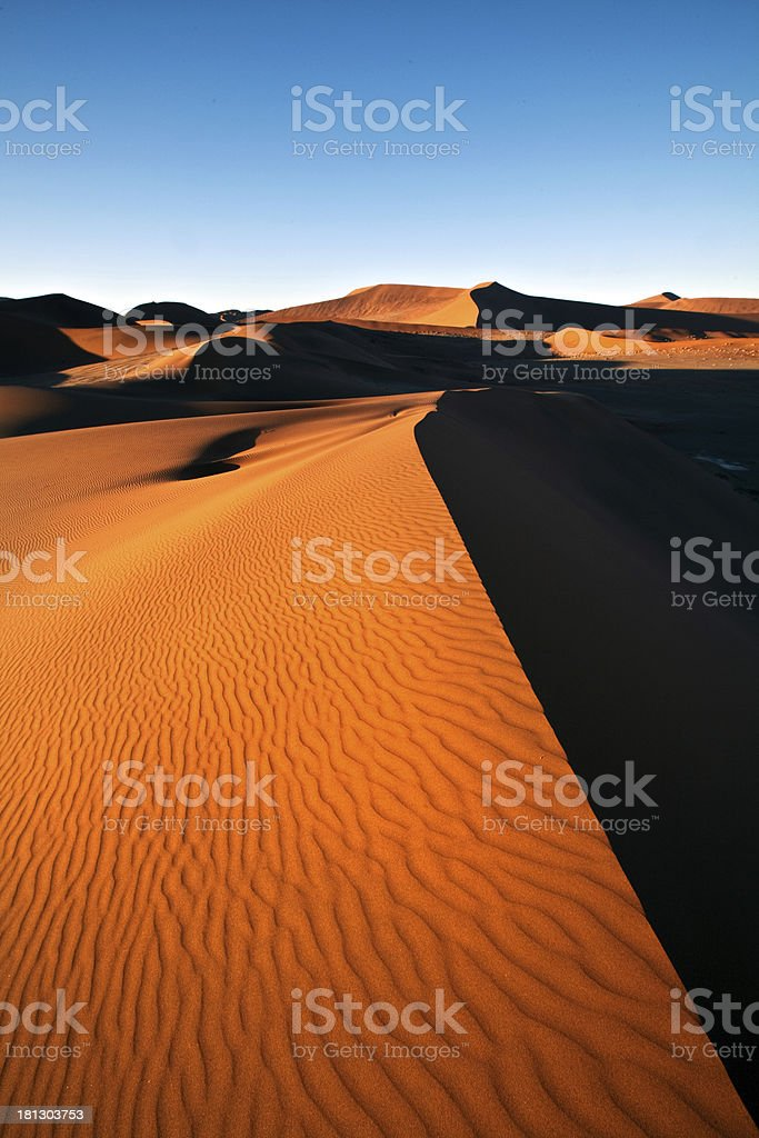 dune contrast royalty-free stock photo