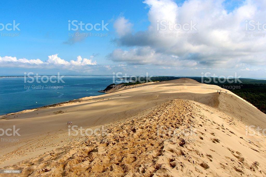 Dune du Pilat - Landes stock photo
