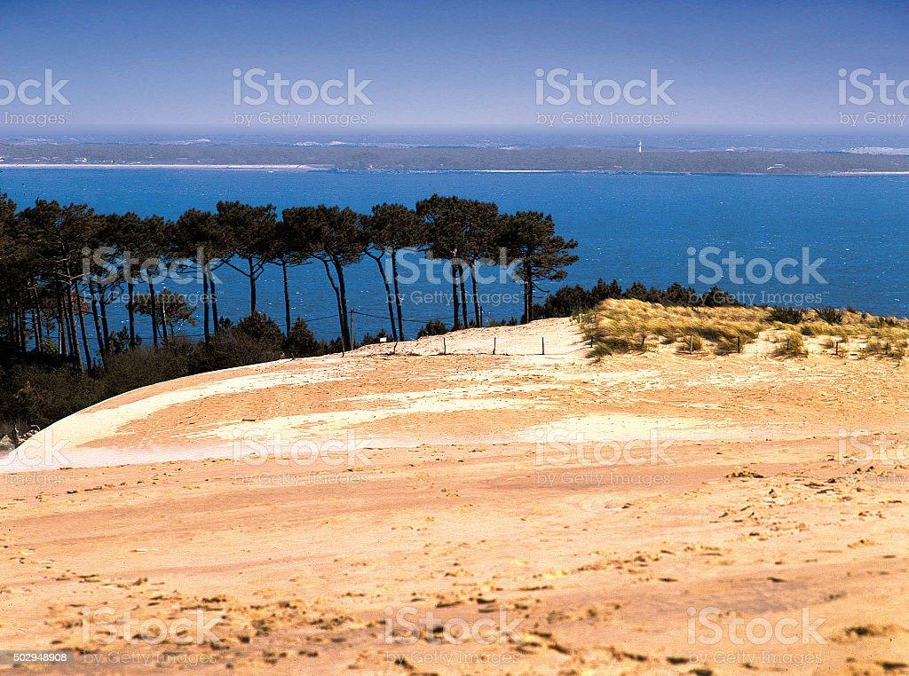 dune du pilat. stock photo