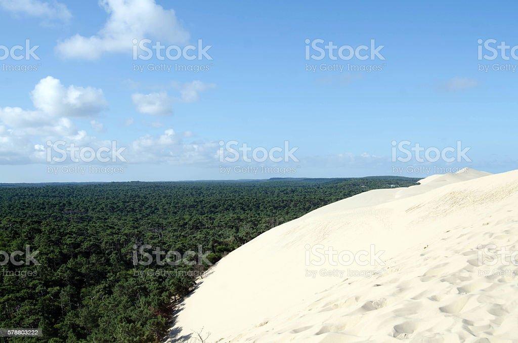 Dune du Pyla stock photo