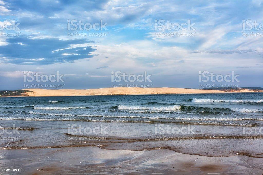 Dune of Pilat stock photo