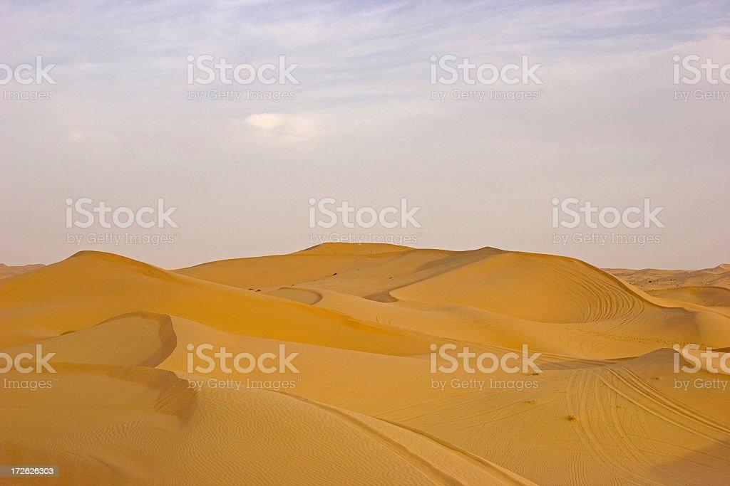 Dune of sand royalty-free stock photo