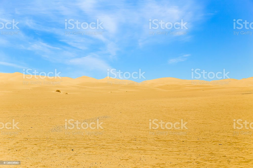 Dunes and Sky stock photo