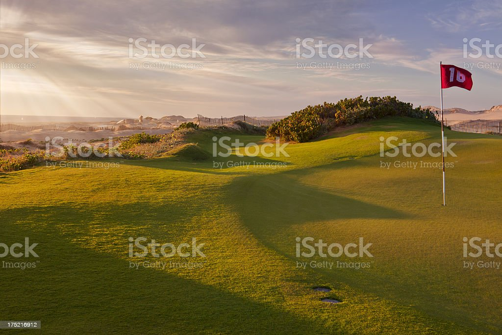 Dunes Golf Course on the Pacific, Cabo San Lucas royalty-free stock photo