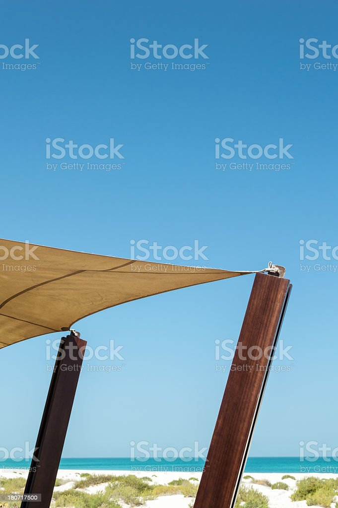 Dunes of Abu Dhabi royalty-free stock photo