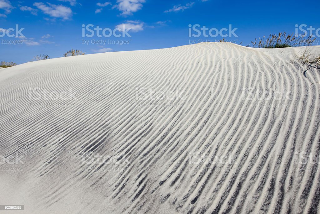 Dunes of Hatteras royalty-free stock photo