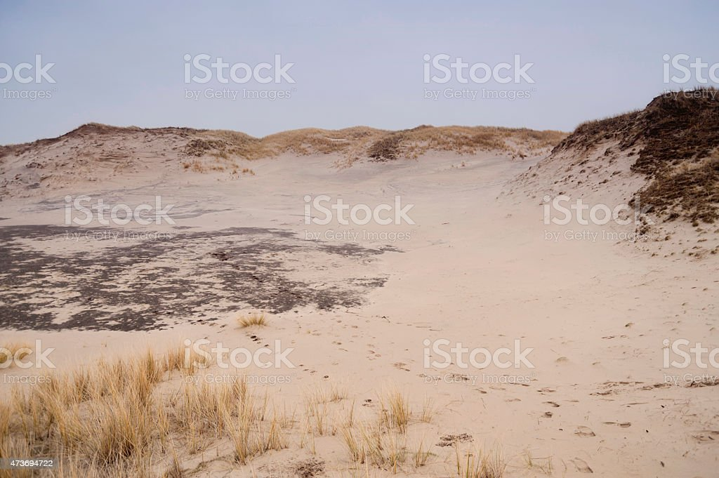 Dunes on Amrum stock photo